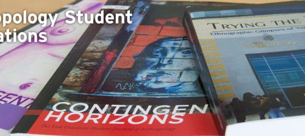 Photo of covers of Anthropology Publications created by our students
