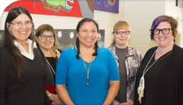 Photo of Indigenous Research Ethics Workshop organizers | 2018-05-17